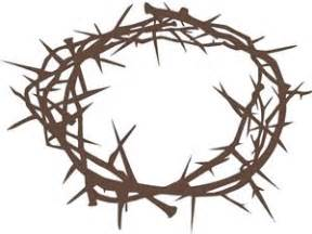 printable crown of thorns crown of thorns printable clipart clipart best