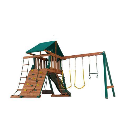 heartland swing sets heartland playsets captains loft b residential wood