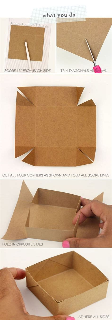 How To Make A Paper Window - best 25 paper boxes ideas on diy box paper