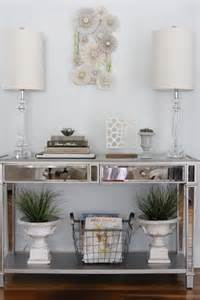 Entry Console Table With Mirror Console Tables Decor Fix