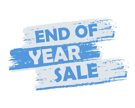 sale stock end year end of year sale stock illustration image 47731055