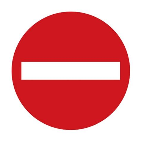 dopravní značka zákaz vjezdu všech vozidel | vakomobiliář
