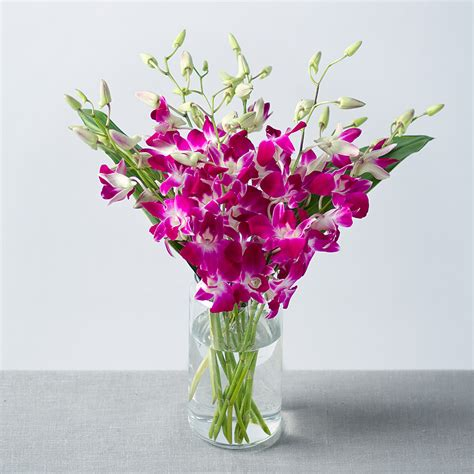 flowers by post orchids bouquet dendrobium orchids by