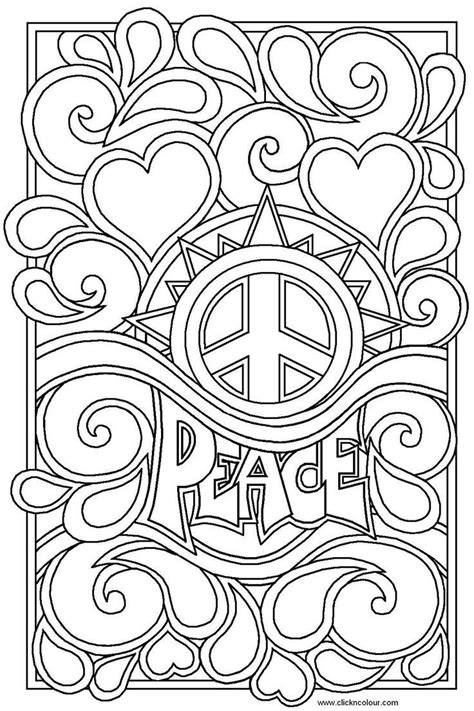 color for peace 25 best ideas about coloring pages for teenagers on