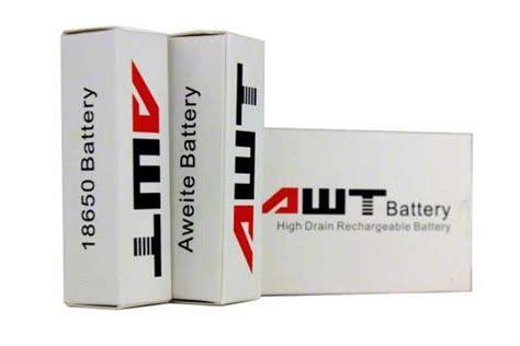 Awt 2600 Watt50a 18650 Battery awt 18650 40a 2600 mah battery 2 pack accessories