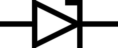all diode symbols zener diode symbol clip free vector in open office drawing svg svg vector illustration