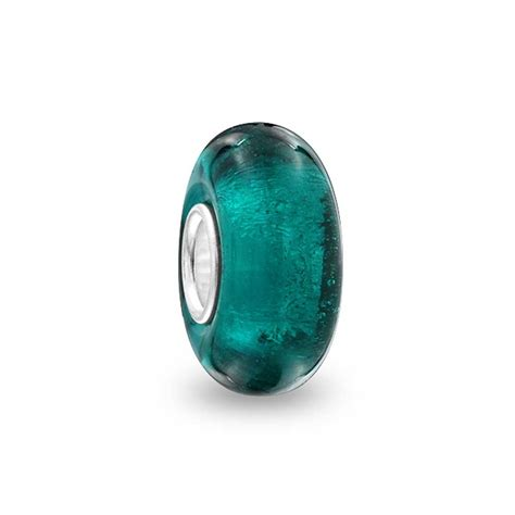 glass pandora bling jewelry 925 sterling silver murano glass bead