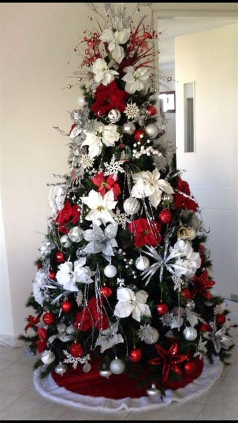como decorar arboles de navidad blancos como decorar arboles de navidad color blanco como decorar