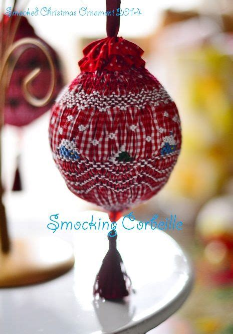 1000 images about smocked ornaments on pinterest cable