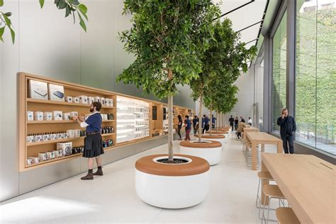 home design store san francisco apple opens green filled san francisco union square store