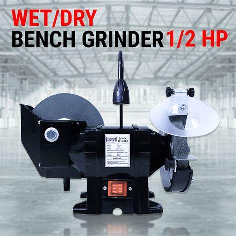 wet dry bench grinder 8 quot 6 quot wet dry bench grinder 1 2hp 375w knife sharpener