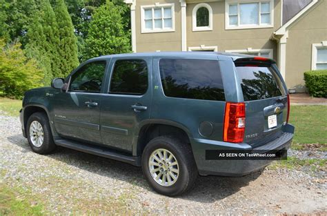 2009 chevrolet tahoe hybrid 2009 chevrolet tahoe hybrid better mpg then ltz with all