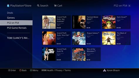 Play Store Ps4 Psn Sale Focuses On Ps2 For The Ps4 Gamezone