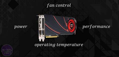amd gpu fan control amd radeon r9 290x review bit tech net