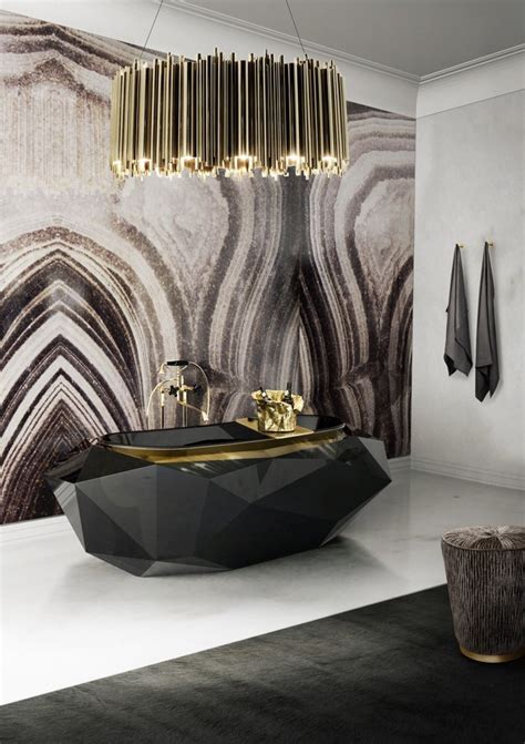Contemporary Home Decor Luxury Gold And Black Furniture For Modern Interiors