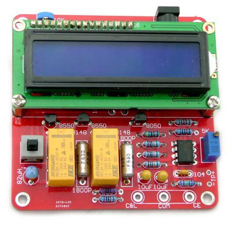 inductance capacitance meter kit diy m8 lc digital inductance capacitance meter kit free shipping dealextreme