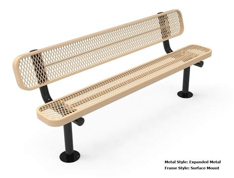 6 foot bench seat rhino 6 foot rectangular thermoplastic metal bench with