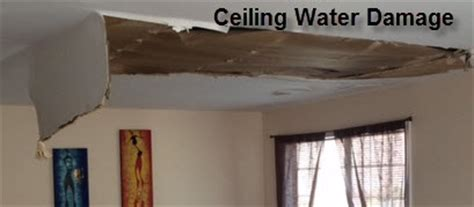 Fix Ceiling Water Damage by Ceiling Water Damage Clean Up Repairs Nj Ny Free Inspection