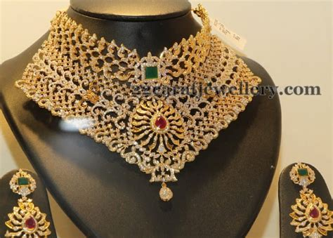 Kalung Choker Layer Saphire Blue Square ways wedding set jewellery designs
