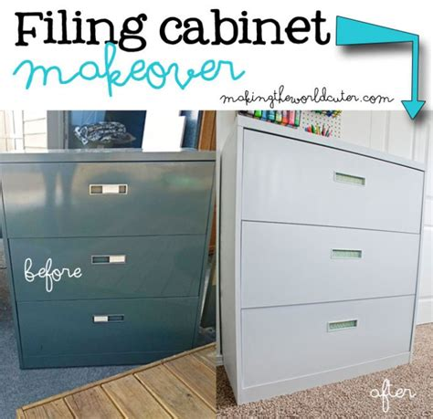 Metal Filing Cabinet Makeover Metal Filing Cabinet Makeover Metal Filing Cabinet Makeover Compound Metal Filing