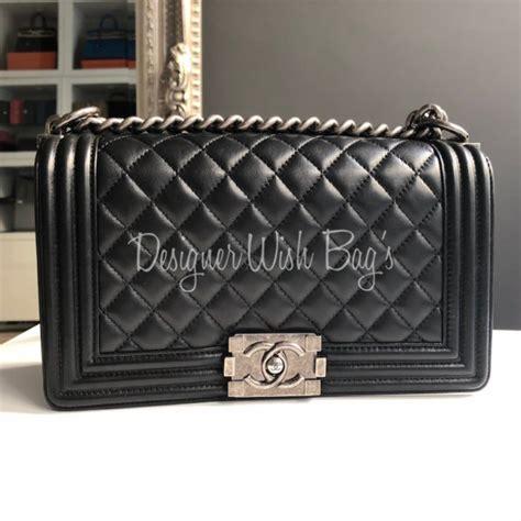 Harga Chanel Boy Medium by Chanel Boy Medium Black