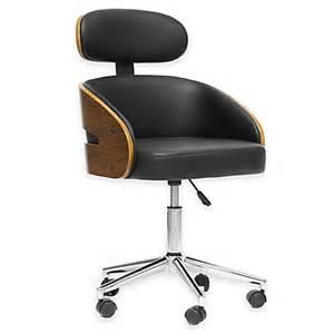 Ultra Modern Desk Chair Design Set Baxton Studio Kneppe Modern Office Chair In Black Bed