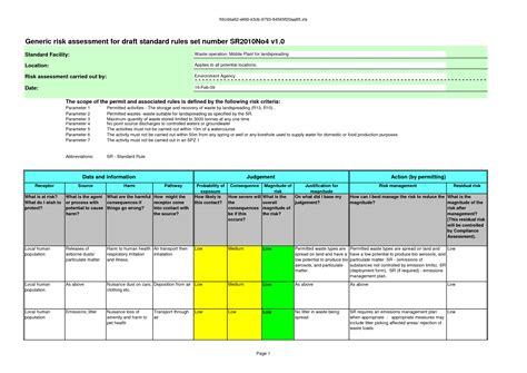 risk assessment matrix xls pictures to pin on pinterest