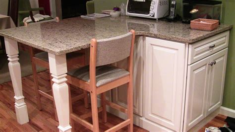 kitchen island with legs kitchen project by custom cabinets by design in houston