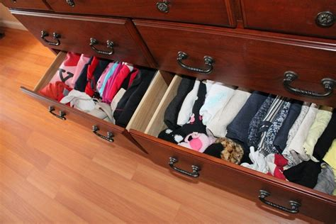 How To Organize Clothes Drawers how to organize clothes drawers
