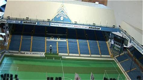 Miniatur Stadion 1 news uk miniature stadium on show