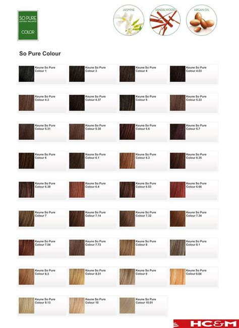 keune color chart keune so color shade chart keune