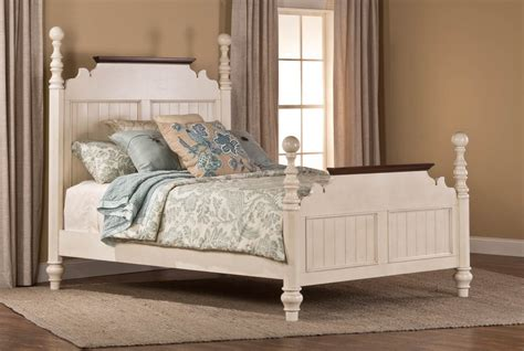 hillsdale bedroom furniture hillsdale pine island sleigh bedroom set old white 1052