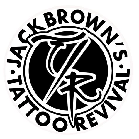 jack browns tattoo revival new sticker brown s revival