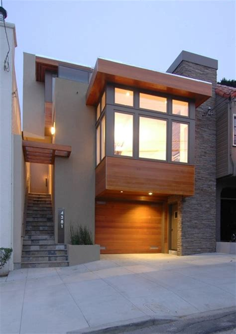 warm modern in noe valley contemporary exterior san francisco by mark brand architecture