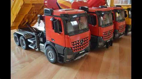 bruder toys mercedes bruder trucks family mercedes arocs