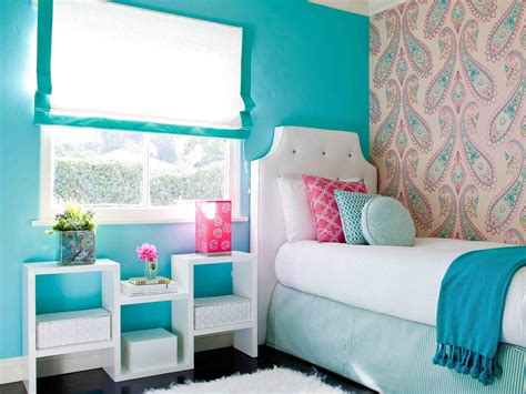 turquoise bedroom wallpaper photos hgtv
