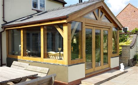 Sunrooms By Design Alpha Oak Traditional Oak Frame Buildings