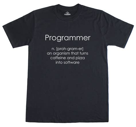 Programmer T Shirt programmer coder software engineer fit mens t