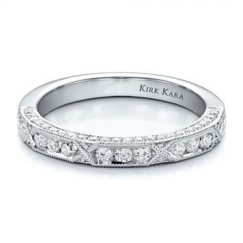 Women's Wedding Rings / Diamond Channel Set Band with