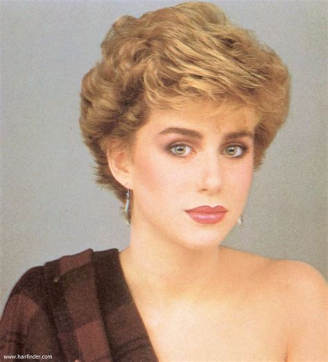 1980 bob hairstyle short 1980s vintage hairstyle with volume and heights