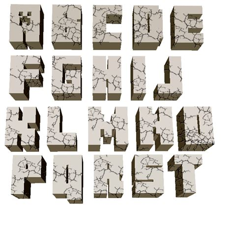 Free Printable Minecraft Alphabet Letters | 5 best images of minecraft printable letters minecraft