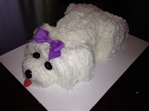 puppy cakes cakes cake ideas and designs