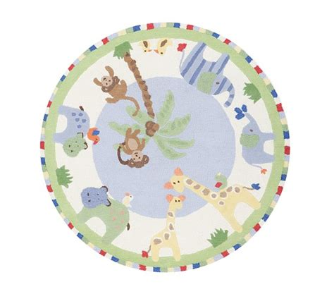 Jungle Friends Rug by Jungle Friends Rug Pottery Barn