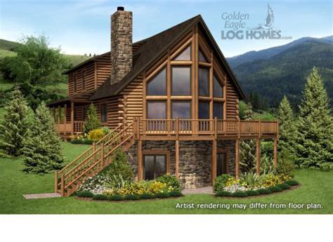 log cabin floor plans with basement log homes and log home floor plans cabins by golden eagle