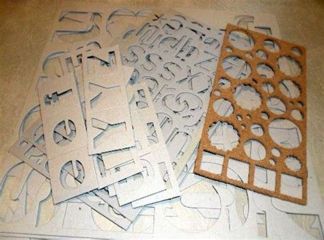 Handmade Stencils - stencils papercrafts gel medium
