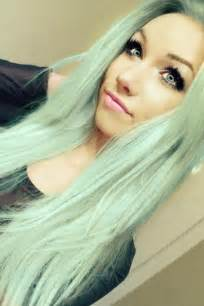 mint color hair diy hair five gorgeous pastel hair colors