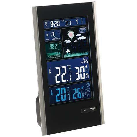 Station Meteo Sans Fil 1418 by Clipsonic Sl250 Station M 233 T 233 O Clipsonic Sur Ldlc