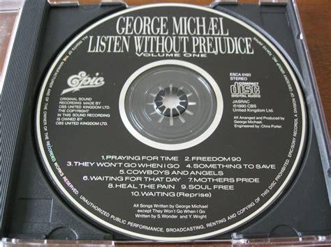 Cd George Michael Listen Without Prejudice george michael cd japon 234 s listen without prejudice vol 1 r 50 00 em mercado livre