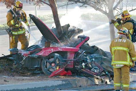 Mechanical Failure mechanical failure paul walker crash report new