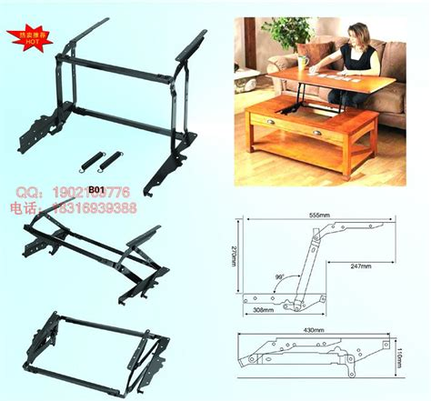 Coffee Table Lift Mechanism Coffee Table Lift Mechanism Lift Up Top Large Coffee Table Hardware Fitting Furniture